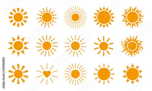 Obraz 太陽 アイコン - fototapety do salonu