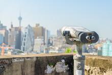 Seedy Tower Viewer At Observation Deck In Macau