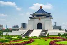 Awesome View Of The National Chiang Kai-shek Memorial Hall