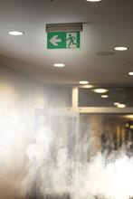 Big Smoke In Office Building