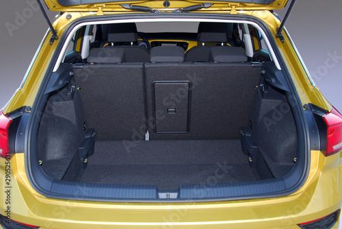 Obraz na plátně  Empty trunk of the suv
