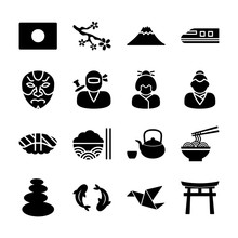 Japanese Solid Icons