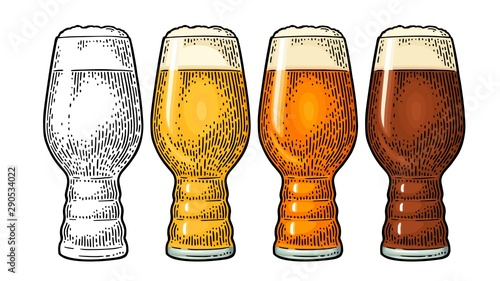 Beer Classics IPA Glas фототапет