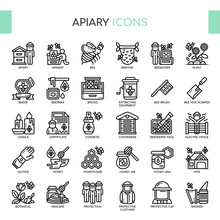 Apiary , Thin Line And Pixel P...