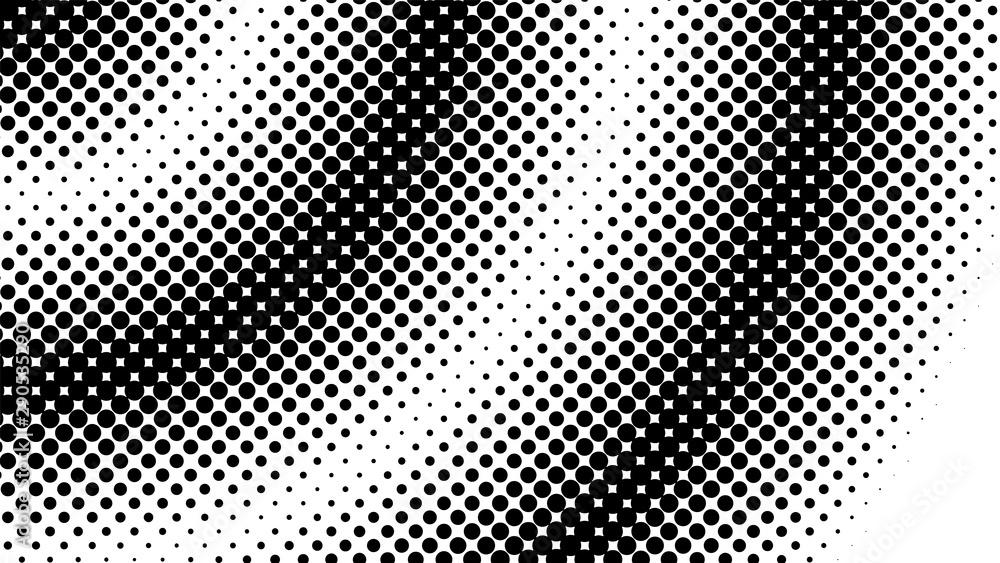 Fototapety, obrazy: Halftone dot background