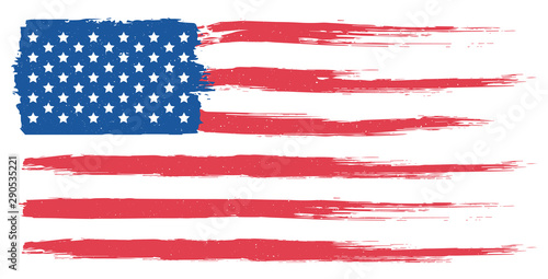 Obraz American flag - fototapety do salonu