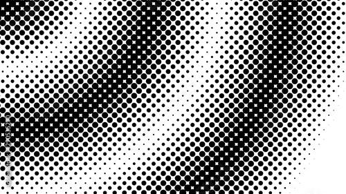 Photo  Halftone dot background