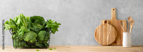 Fotografía  Healthy food cooking concept