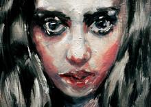 Modern Art Painting Of A Beaut...