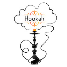 Hookah Silhouette With A Fragr...