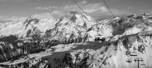 Ski Lift Courchevel