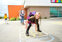 A Hopscotch On The Schoolyard ...