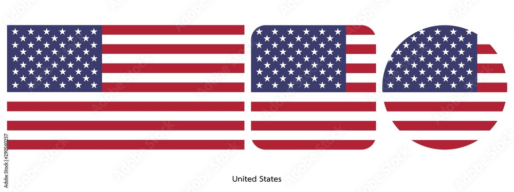 Fototapety, obrazy: United States flag