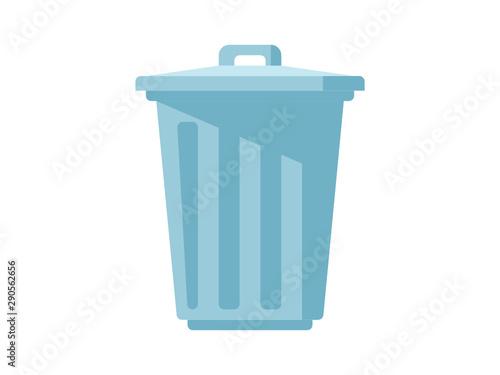 ゴミ箱のシンプルなイラスト Fototapet