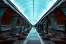Subway Station Interior, Park ...
