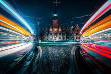 Light Streaks As Cars Move Qui...