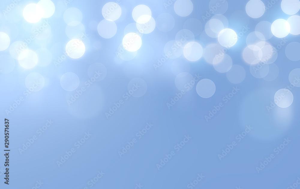 Fototapety, obrazy: Bokeh in gentle blue background