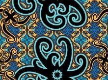 Traditional Seamless Pattern O...