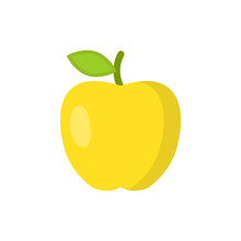 Apple Icon. Vector Illustratio...