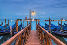 Evening Venice Seascape With G...