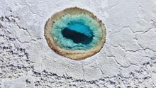 Aerial View Of Lagunas Escondidas De Baltinache