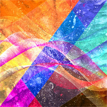 Design Super Abstract Brightly...