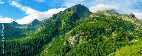 Fototapeta Mountain High Tatras National Park. obraz