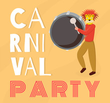 Dominican Carnival Party Banne...