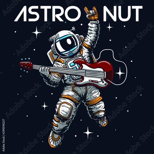 Photographie astronaut illustration tee shirt logo wallpaper graphic design print