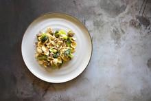 Spicy Italian Sausage Broccoli Orecchiette Pasta