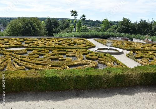 Photo Auvers Sur Oise`s garden in summer