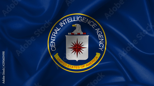 flag of the us central intelligence agency (CIA) Fototapet