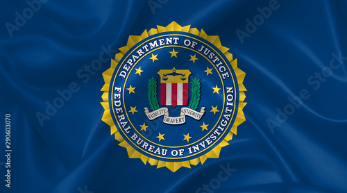 seal of the federal bureau of investigation FBI Tablou Canvas