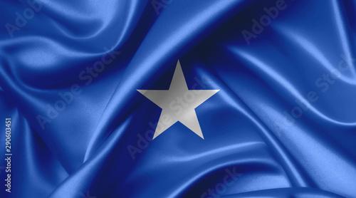 Fényképezés  somali flag