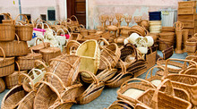 Basketry, Wickenwork At A Mark...