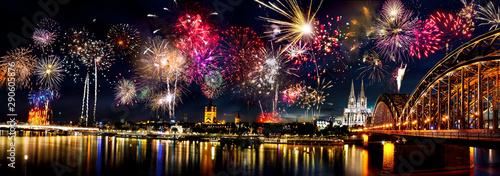 Feuerwerk Köln