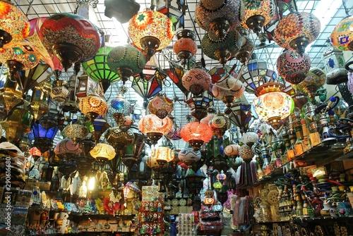 Lampes marocaines - Grenade © Karine