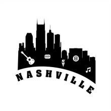 Nashville City Logo, Icon, And Illustration