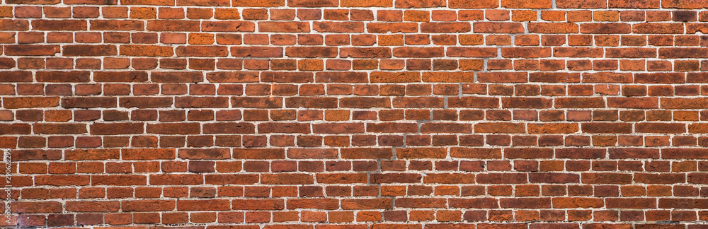 Fototapeta old red brick wall background