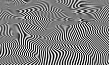 Optical Illusion Striped Wrapp...