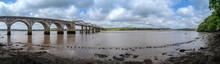 Rail Bridge Over The River Tav...