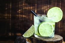 Fresh Summer Alcoholic Caipiri...