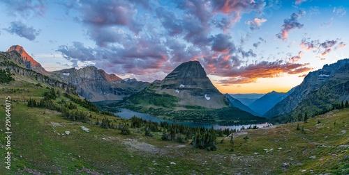 Glacier National Park - Hidden Lake Overlook Canvas-taulu