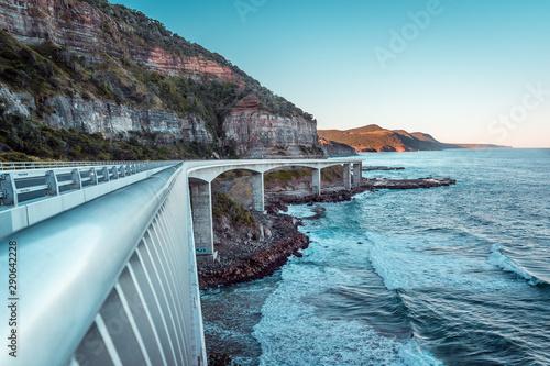 Fotomural  Sea Cliff Bridge, NSW, Australia