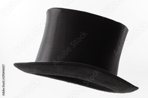 Vintage men fashion and magic show conceptual idea with side profile angle on vi Fototapete