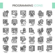 Programming , Thin Line And Pi...