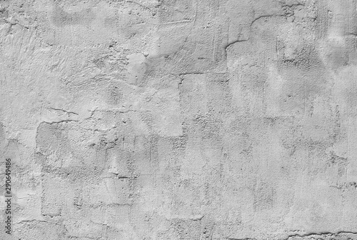 Canvas Prints Old dirty textured wall white and gray textured plaster on the wall