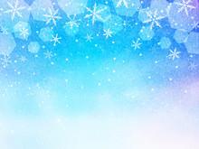 雪の結晶 星空 背景...