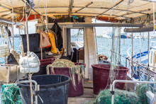 The Fishing Boat's Interior, T...