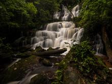 Mun Dang Waterfall In Rainfore...